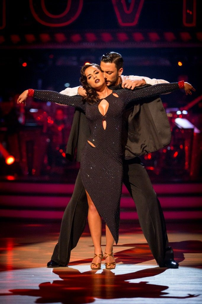 SCD week 3, 2015. Georgia May Foote & Giovanni Pernice. Rumba.