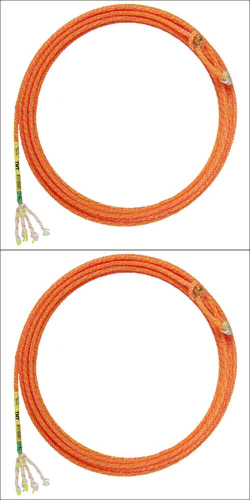 Rodeo and Roping Equipment 114226: 31 Cactus Ropes Western Horse Tack Tnt 4 Strand Poly Nylon Heel Hard Medium -> BUY IT NOW ONLY: $59.95 on eBay!