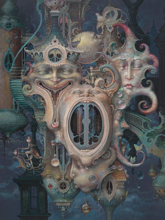 "Daniel Merriam's Solo Show of New Paintings, ""Now You See Me: The Art of Escapism"" 