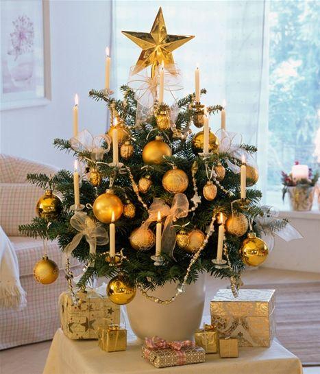 Sådan pynter du et lille juletræ - Hjemmet DK