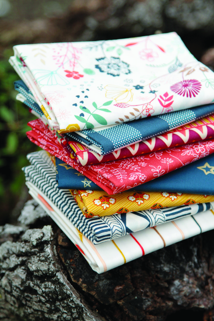 Wild & Free fabric from AGF available from Hantex