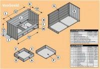 Gratis bouwtekening voor een bankbed van steigerhout. >> Wordt dit jouw bed? http://bit.ly/1fauE1N