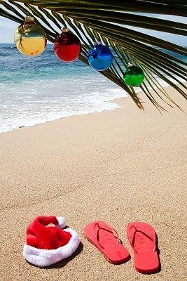 Someday I will spend Christmas on a beach somewhere.......