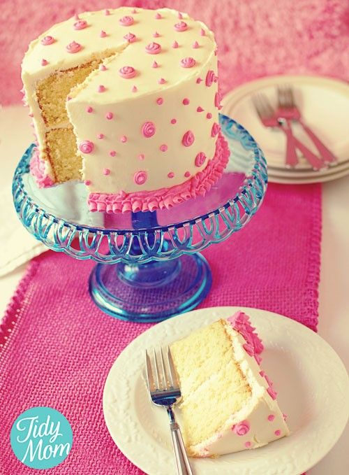 Decorating cakes with buttercream - Click image to find ...