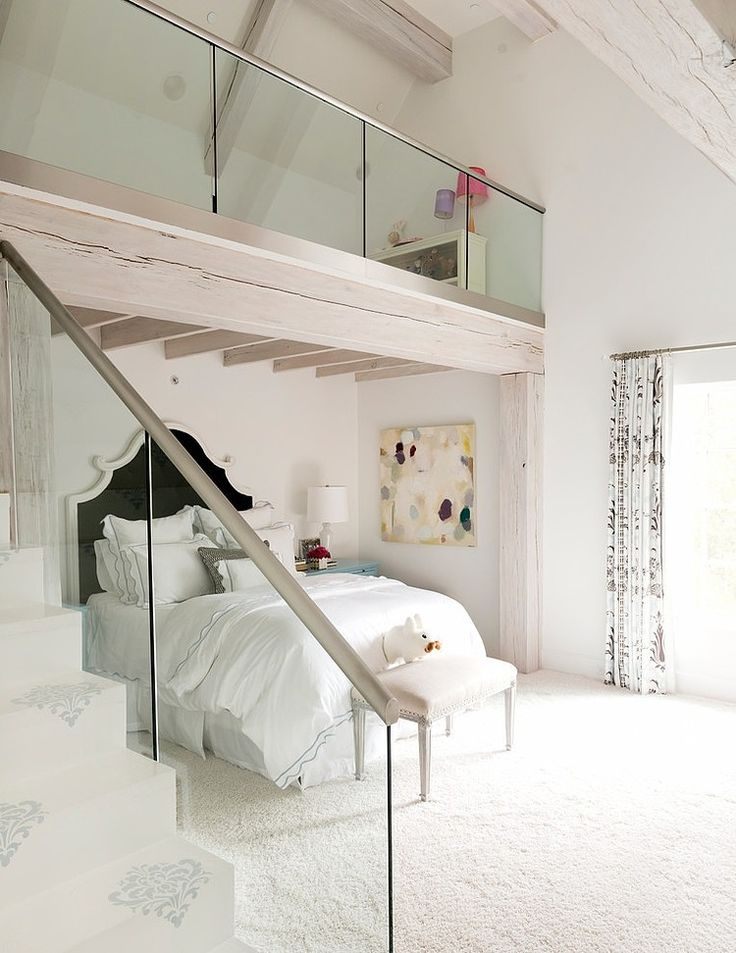 Okay, not the styling ... but I've always wanted a loft in the bedroom. So cool! Wilding Residence by Thompson Custom Homes