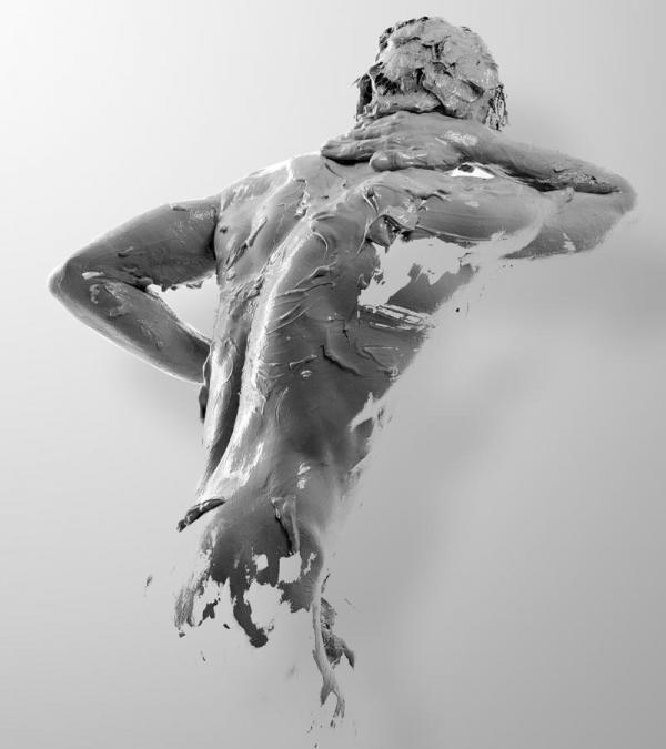 Sculpture Self-Portrait by Julián Cánovas | Cuded