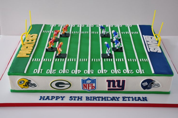 football feild cake | Football Field Cake — Birthday Cakes