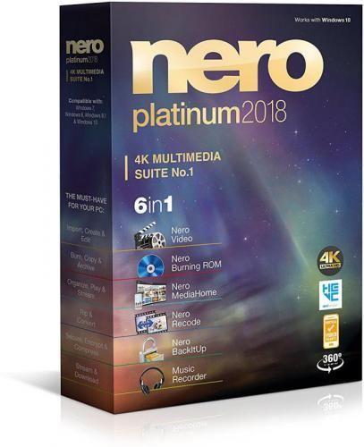 nero 12 platinum free download with crack