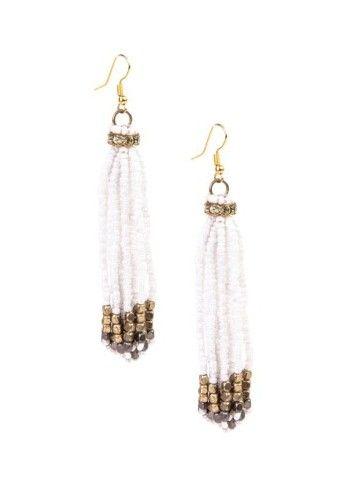 Dvoubarevné korálkové náušnice #modino_cz #modino_style #budtein #earring #náušnice #style #fashion #accessories #ModinoCZ