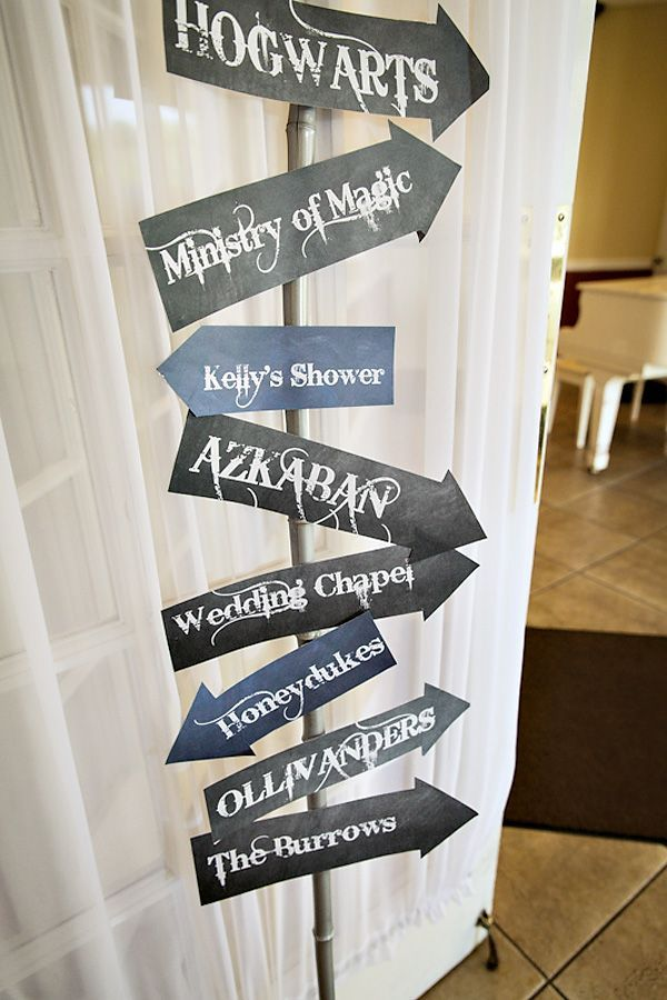 Magical Harry Potter Romance Bridal Shower