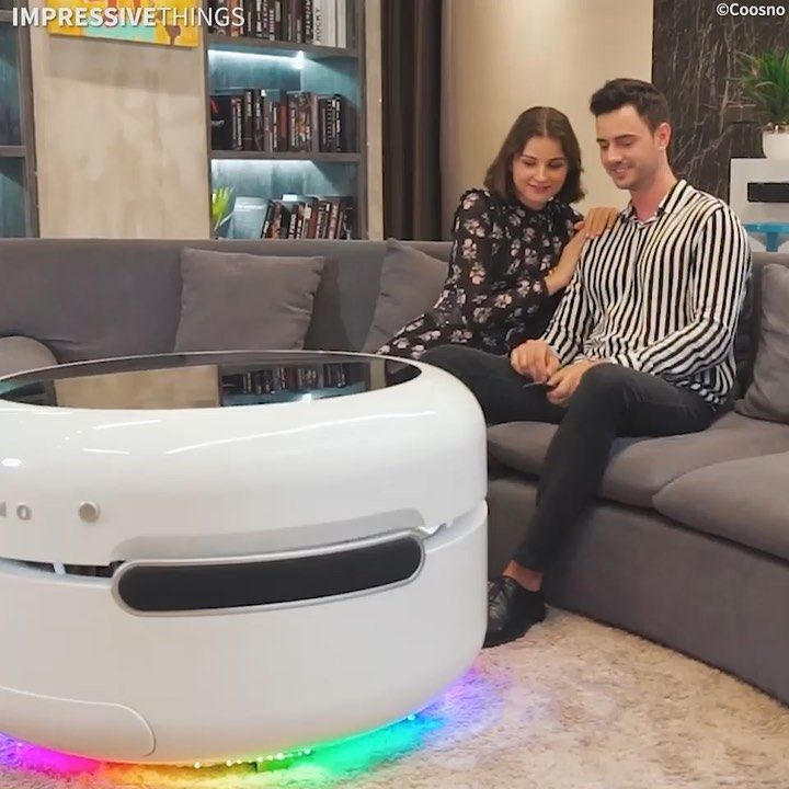 This Smart Coffee Table Is Designed For The Future