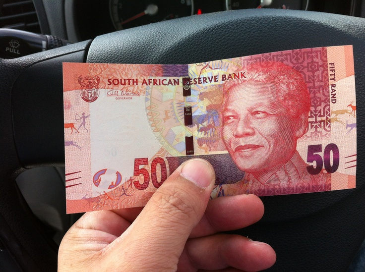 Our new R50 note with Mandela face