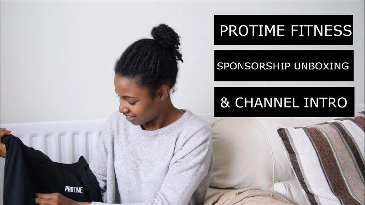 Protime Fitness Sponsorship Unboxing