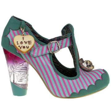 Irregular Choice | Womens | Irregular Choice | Cookie Club omg love love love so much so that I bought these too!