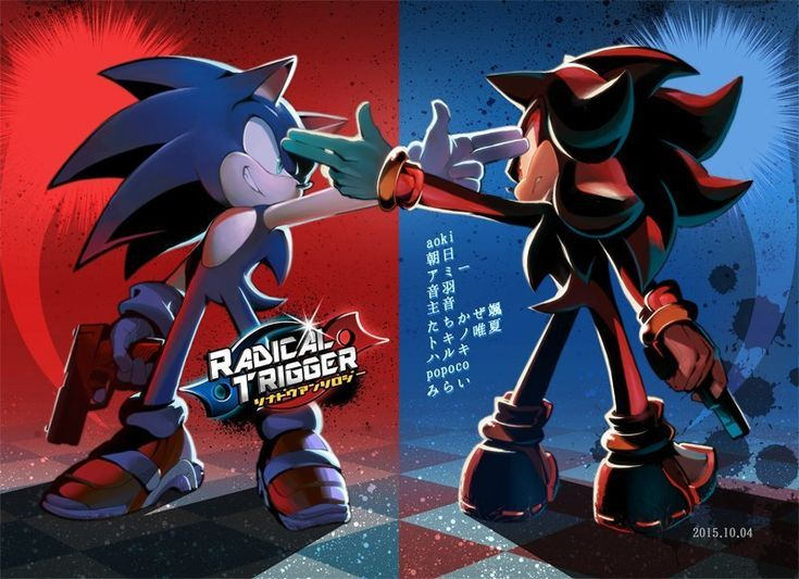 Sonic vs. Shadow art