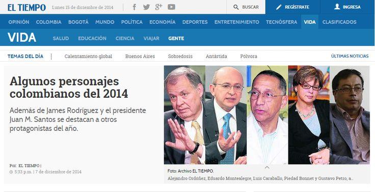 Algunos personajes colombianos del 2014 #Unicartagena  http://www.eltiempo.com/estilo-de-vida/gente/personajes-colombianos-del-2014/14942158
