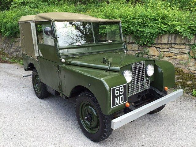 1951 Landrover SWB 80