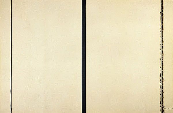 Barnett newman shining forth 1961 art i like maybe for Frank stella mas o menos