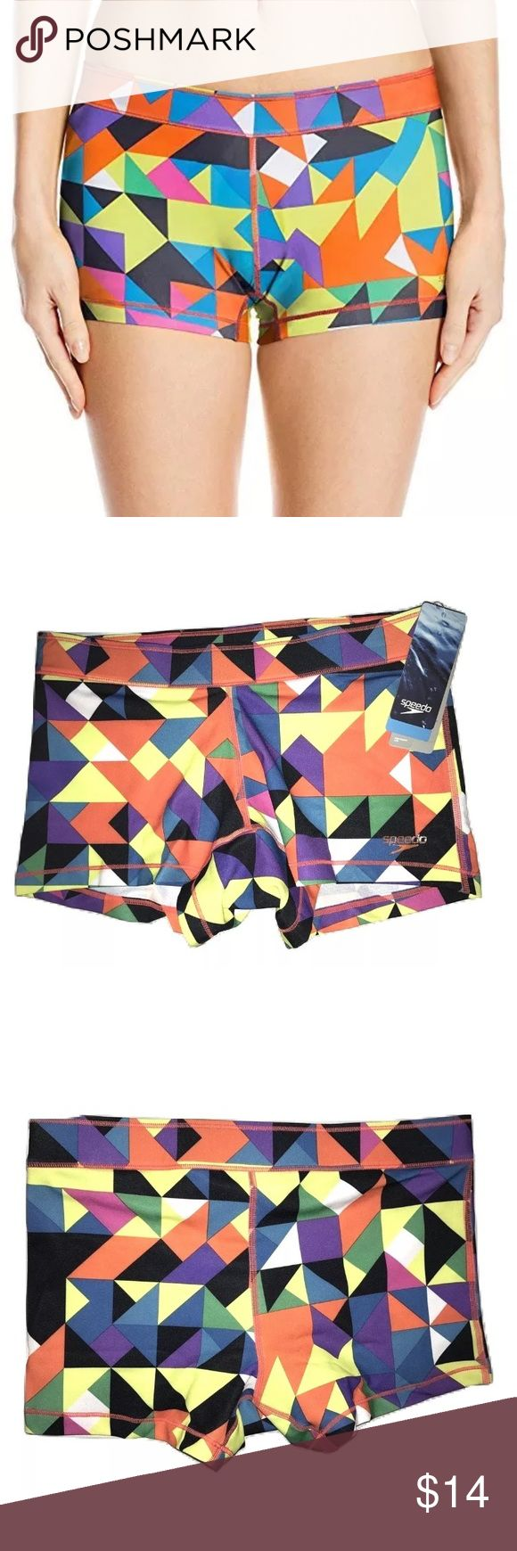 Speedo Swim Shorts Bottoms Speedo Endurance Lite Women's Swim Shorts Bottoms Size Small   New with tags - price on tag is $24   I try my very best to capture the correct shade of the color.  The actual shade may vary in person.  Endurance Lite - Chlorine resistant, retains color and dries quickly.  Lighter weight and greater stretch than Endurance + 51% Polyester PBT, 49% Polyester   Thank you so much! Speedo Swim