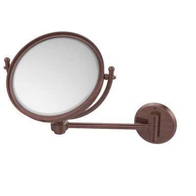 Allied Brass Universal Extendable Mirror Magnification: 4x, Finish: Antique Copper