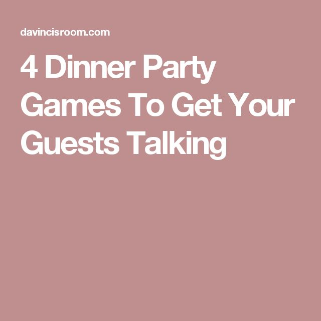 Ideas For Dinner Party Games Part - 43: When Youu0027re Searching For Dinner Party Games Sometimes A Concise List Of  Some Of The Best Is What You Need. This Is A List Of 4 Dinner Party Games  That Are ...