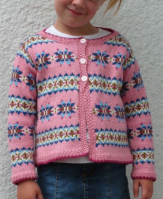 Ravelry: Fair Isle Cardigan pattern by Debbie Bliss