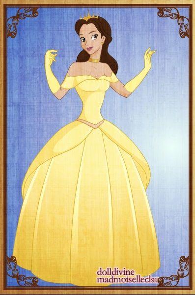 Princess Belle by ~PinkPetalEntrance on deviantART