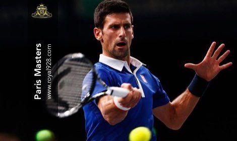 Agen Bola - Petenis peringkat satu dunia Novak Djokovic melaju ke babak final turnamen tenis Paris Masters dan selangkah lagi untuk menjadi petenis pertama yang menjadi juara turnamen tersebut tiga tahun berturut-turut.