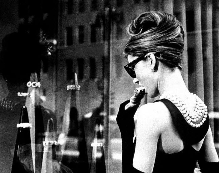 breakfast at tiffany's engagement shootBreakfast At Tiffanys, Audrey Hepburn, Style Icons, Holly Golightly, Audreyhepburn, Windows Shops, Little Black Dresses, Chicks Flicks, Breakfastattiffany