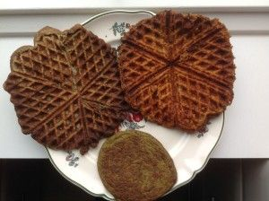 Delicious LCHF-waffles or baked in the oven