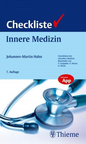 gebrauchtes Buch – Hahn, Johannes-Martin – Checkliste Innere Medizin