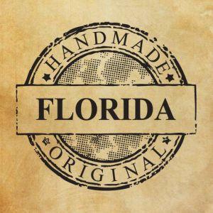 Rubber stamp Handmade Original Florida by kadifecraft on Etsy, $4.00