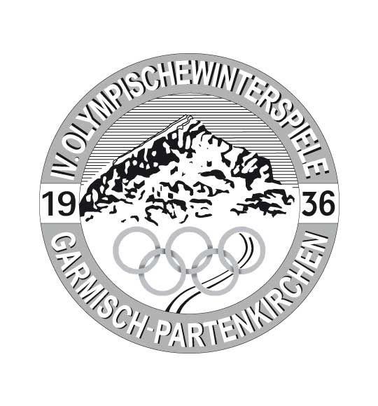 Olympic logo // Garmisch-Partenkirchen 1936 Winter Olympics