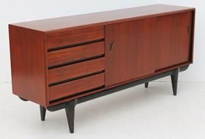 Condition:  Used  Vintage Dark Retro Sideboard size: 1800 L x 460 W x 840 H in good condition @R7999 Call 0767064700