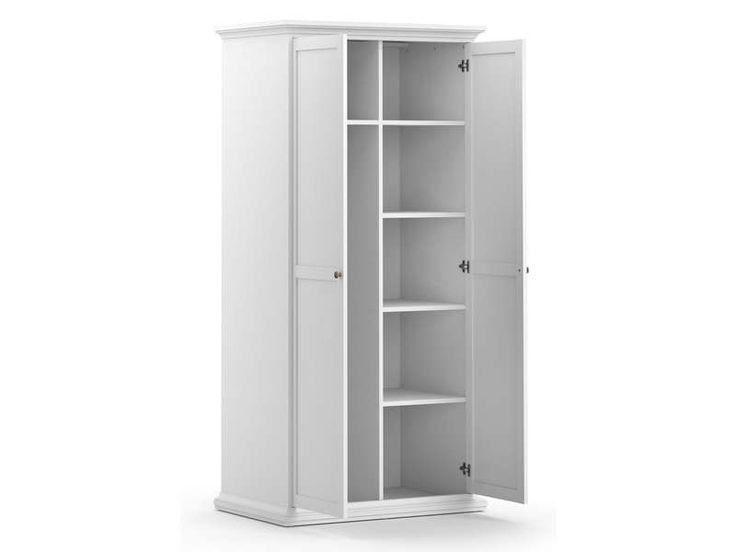 armoire 2 portes pas cher affordable armoire portes discount mobilier pas cher chambre fille. Black Bedroom Furniture Sets. Home Design Ideas