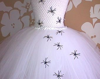 Halloween Dress, Spider Princess Costume, Spider Queen Costume, Girls Halloween Costume, Spooky Spider Halloween Tutu, Spider Tutu Costume