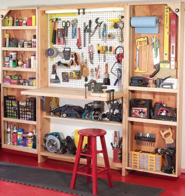 20 Garage Wall Storage Ideas, Space Organization with Storage Shelves and Racks. (n.d.). Retrieved March 4, 2015, from http://www.lushome.com/20-garage-wall-storage-ideas-space-organization-with-storage-shelves-and-racks/141434