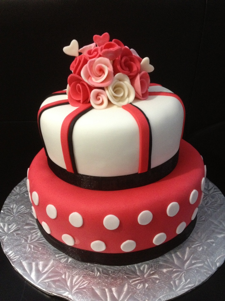 19 Best Cakes Images On Pinterest Anniversary Ideas