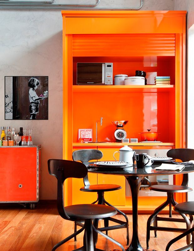 17 Best ideas about Orange Kitchen Designs on Pinterest Orange kitchen  furniture, Orange kitchen inspiration and Orange kitchen interior