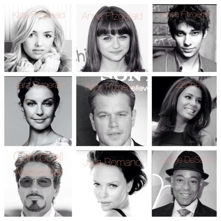 Dream Cast For My Sister's Keeper!!  Peyton List: Kate Fitzgerald  Joey King: Anna Fitzgerald   Devon Botswick: Jesse Fitzgerald   Ashley Judd: Sara Fitzgerald   Matt Damon: Brian Fitzgerald  Eva Longoria: Zanne  Robert Downey Jr.: Campbell Alexander Charlize Theron: Julia Romano  Giancarlo Esposito: Judge DeSalvo