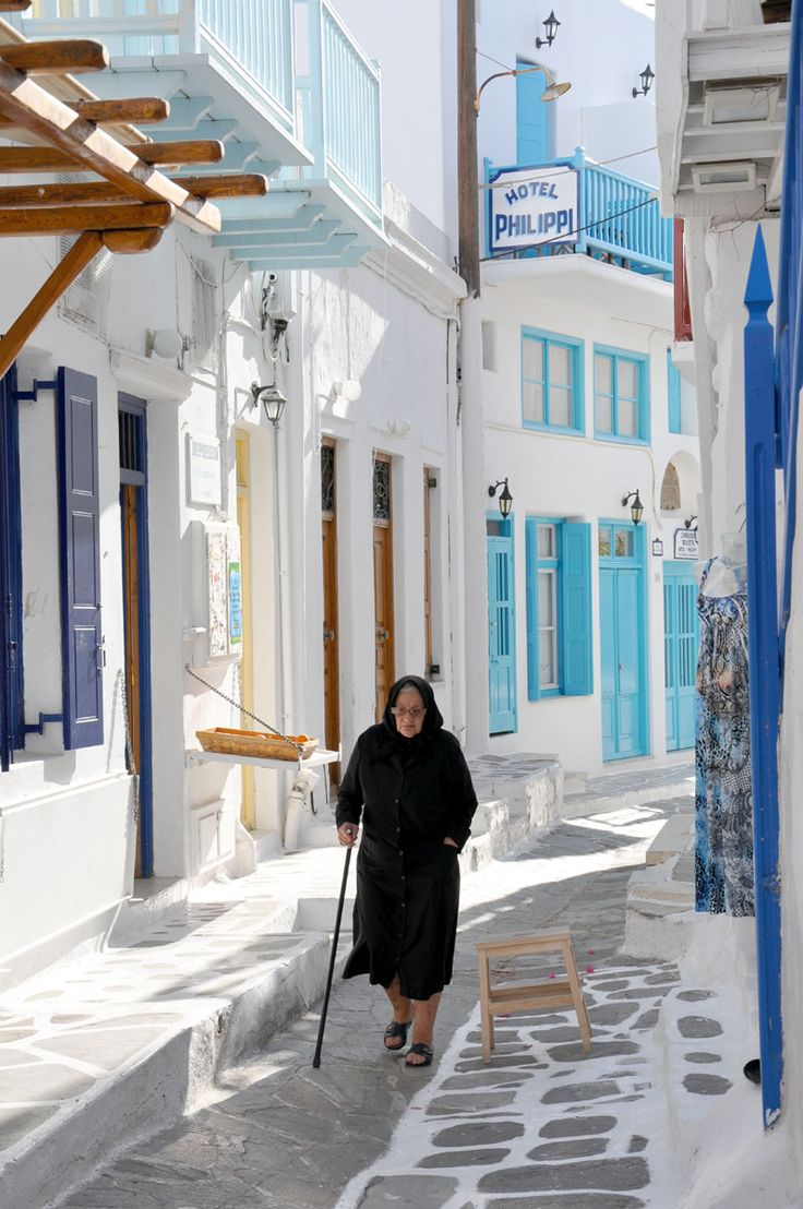 The Old Way, Mykonos island, Greece