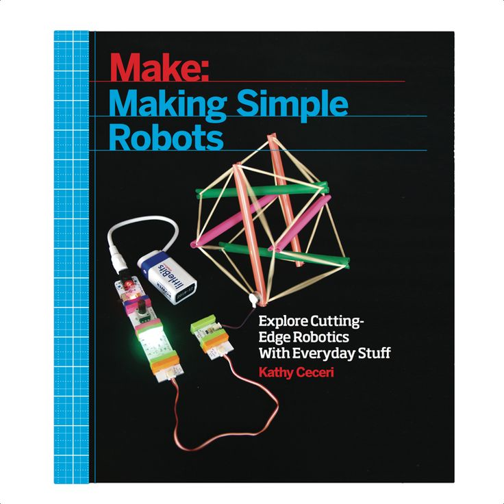 """Once you understand how to make a very simple robot — and what a """"robot"""" actually is — you're well on your way to understanding the concepts driving today's Maker Movement. Written for parents and educators looking to quickly skill themselves up in this space, """"Making Simple Robots"""" assures that seemingly difficult concepts around 3D printing and other exploding technologies are actually quite easy to grasp and relevant to your life."""