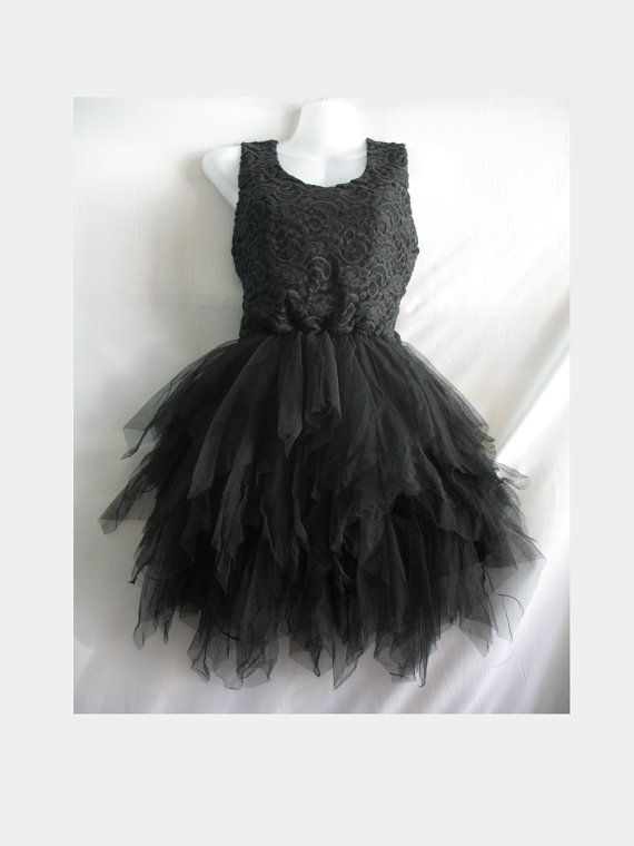 Little Black Dress Lace Dress Party Prom Dress  Sweet door midress, $38.00