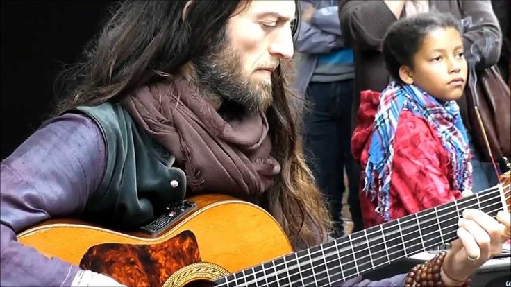 Many speak.. few can touch.... many play.... few can share what is in their soul... in the way that this man can... Saying Hello~ Estas Tonne