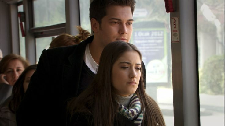 (100+) adini feriha koydum | Tumblr... when Cansu and Hande gifted a dustbin to Feriha on ger birthday and Emir was trying to talk to her and support hr