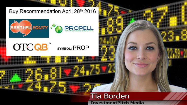 Propell Technologies (OTCQB: PROP) receives target price of $0.27 from S...