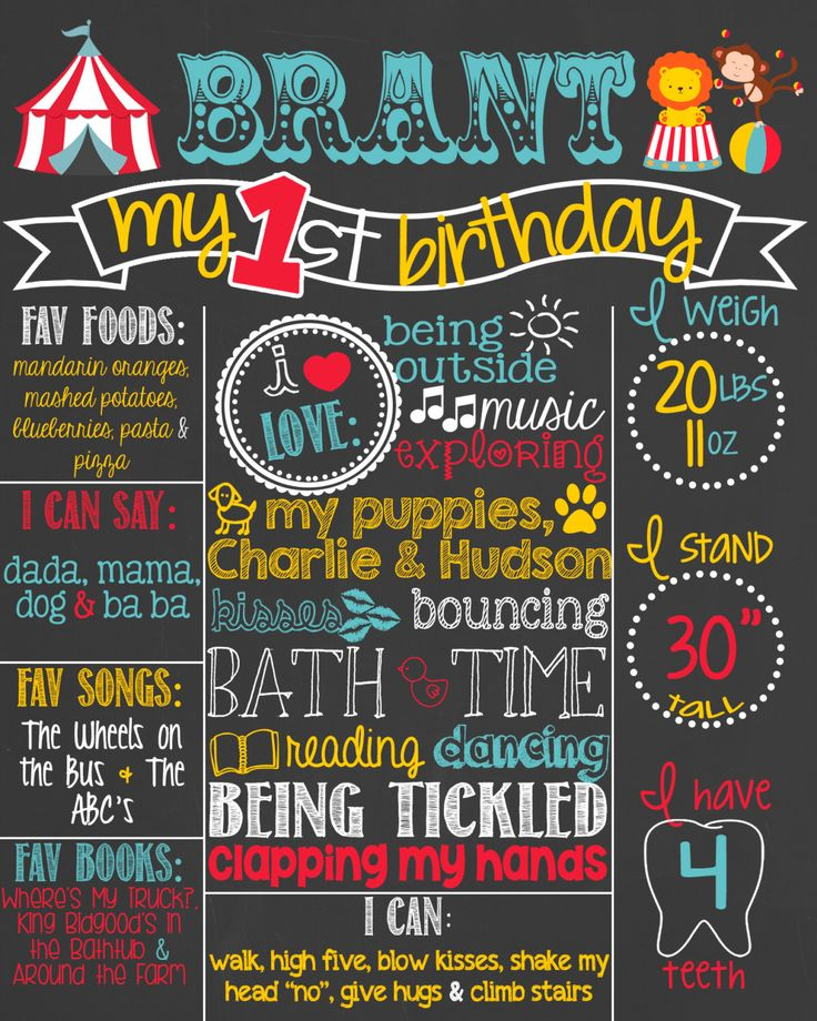 25+ Best Ideas About First Birthday Board On Pinterest