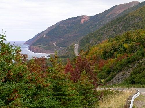 Nova Scotia, Cabot Trail. One of the prettiest drives in this hemisphere.
