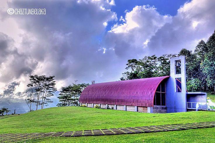 Kapel di Bukit Doa Tomohon, North Sulawesi