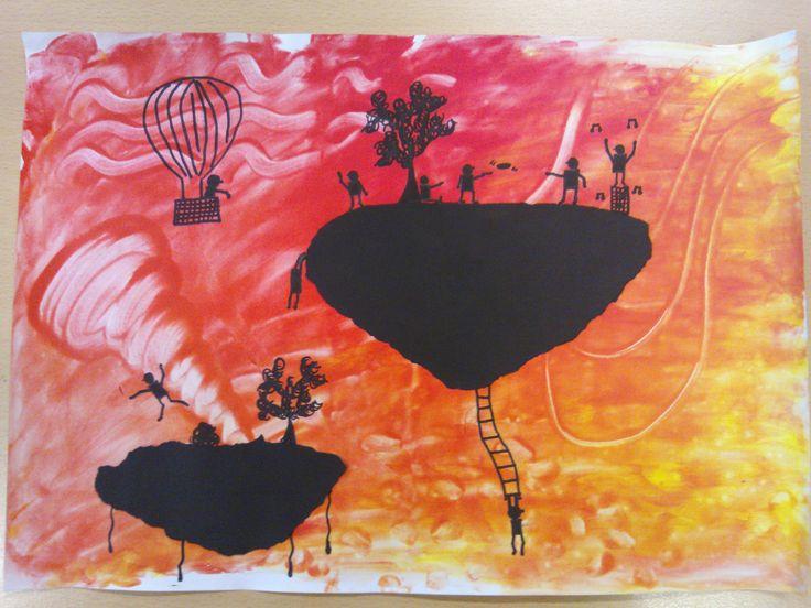 25 beste idee n over eiland knutselen op pinterest oceaan thema decoraties oceaan feest en - Rode keuken met centraal eiland ...